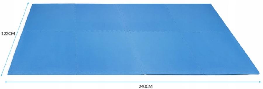 PIANKOWA MATA SAPPHIRE dla DZIECI 122x240cm, 8SZT EAN 5903228923210