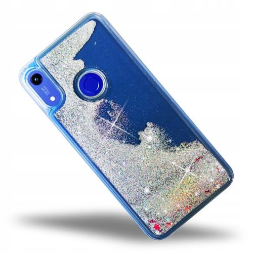 Brokat Liquid Glitter Etui Do Huawei Honor 8A
