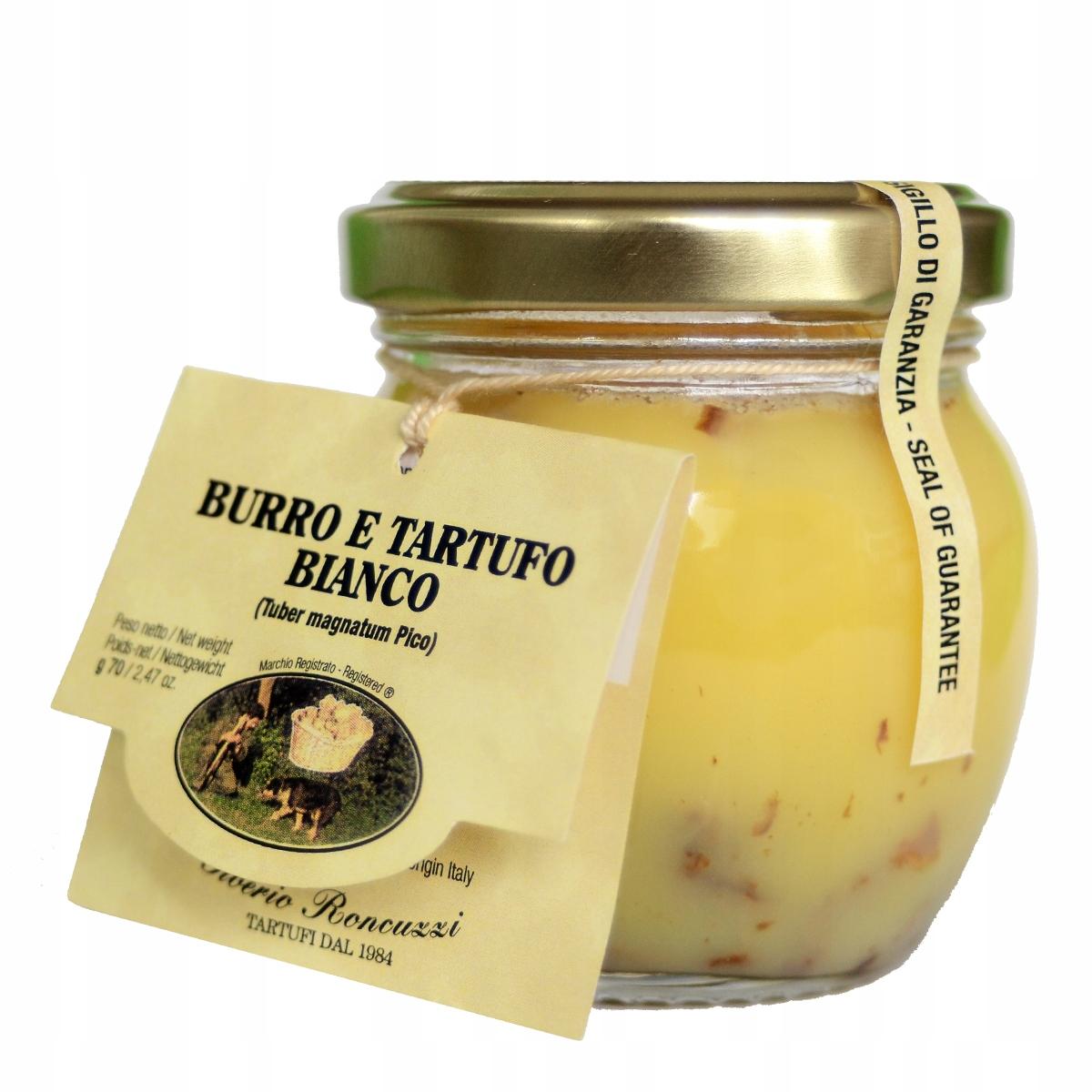 Белые трюфели в нежном масле - итальянские - 70 гр.