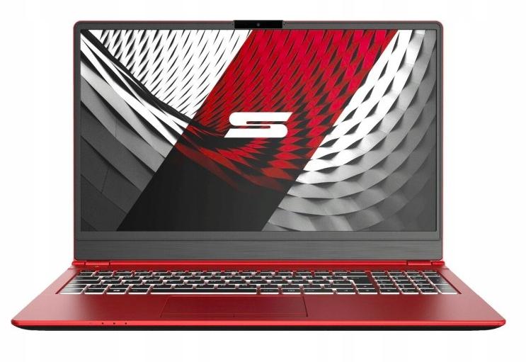 Laptop Schenker Slim 15 i5-10210U L19-wy Czerwony