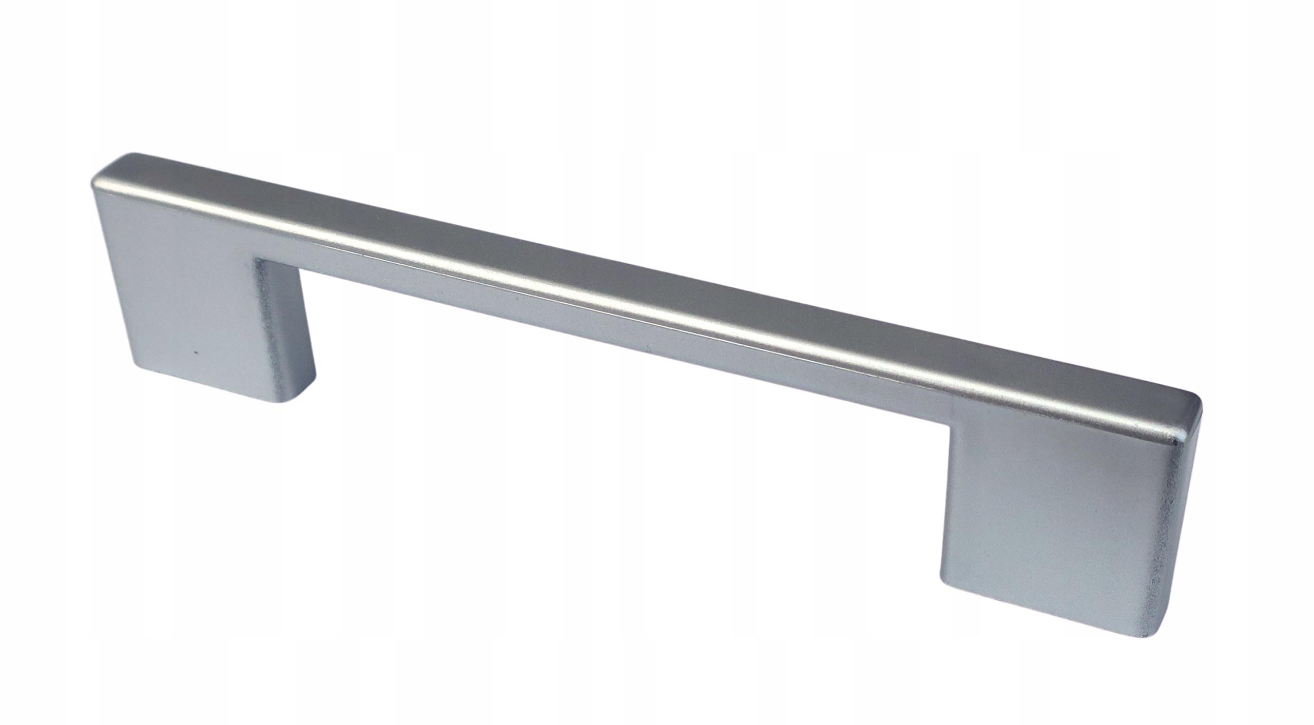 Uchwyt meblowy UL Srebrny 96mm 128mm + wkręty