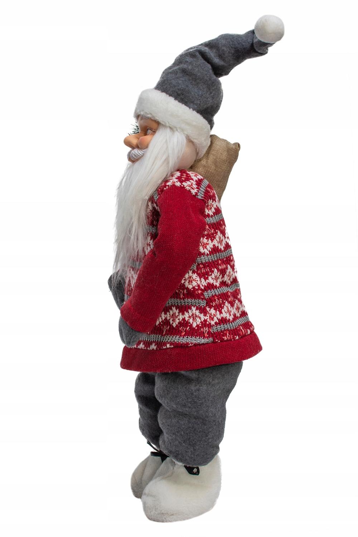 Vianočný Santa 61cm škandinávsky VEĽKÝ svätý Mark JUMI