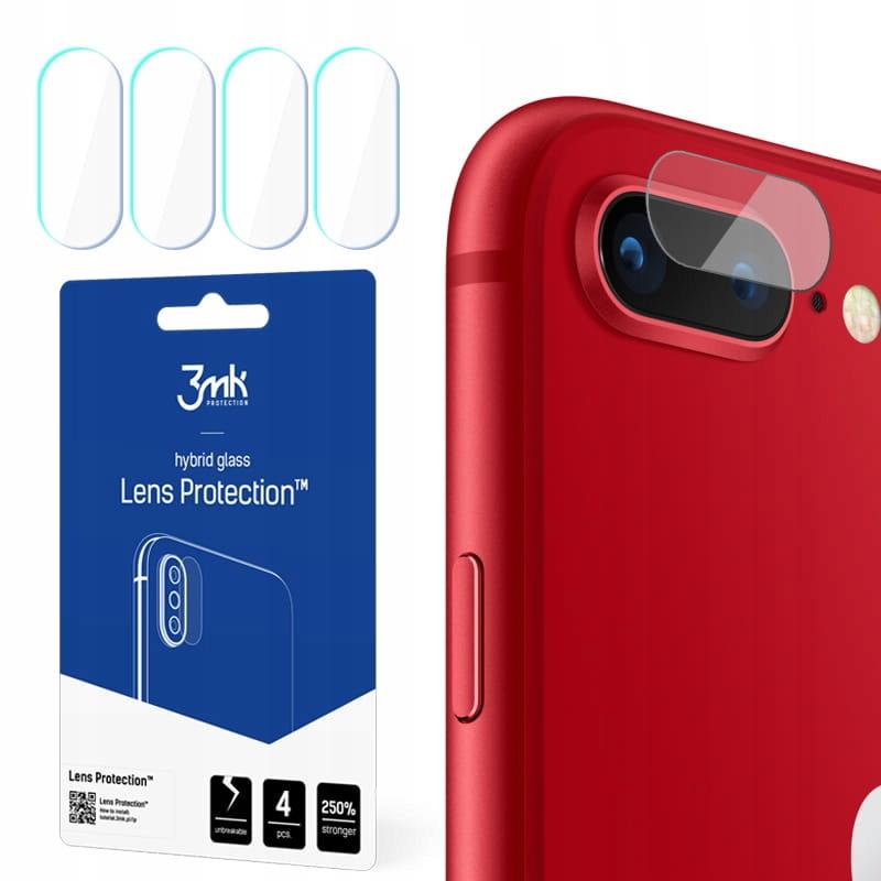 Ochrona na obiektyw aparat 3mk Lens do iPhone 7/8+