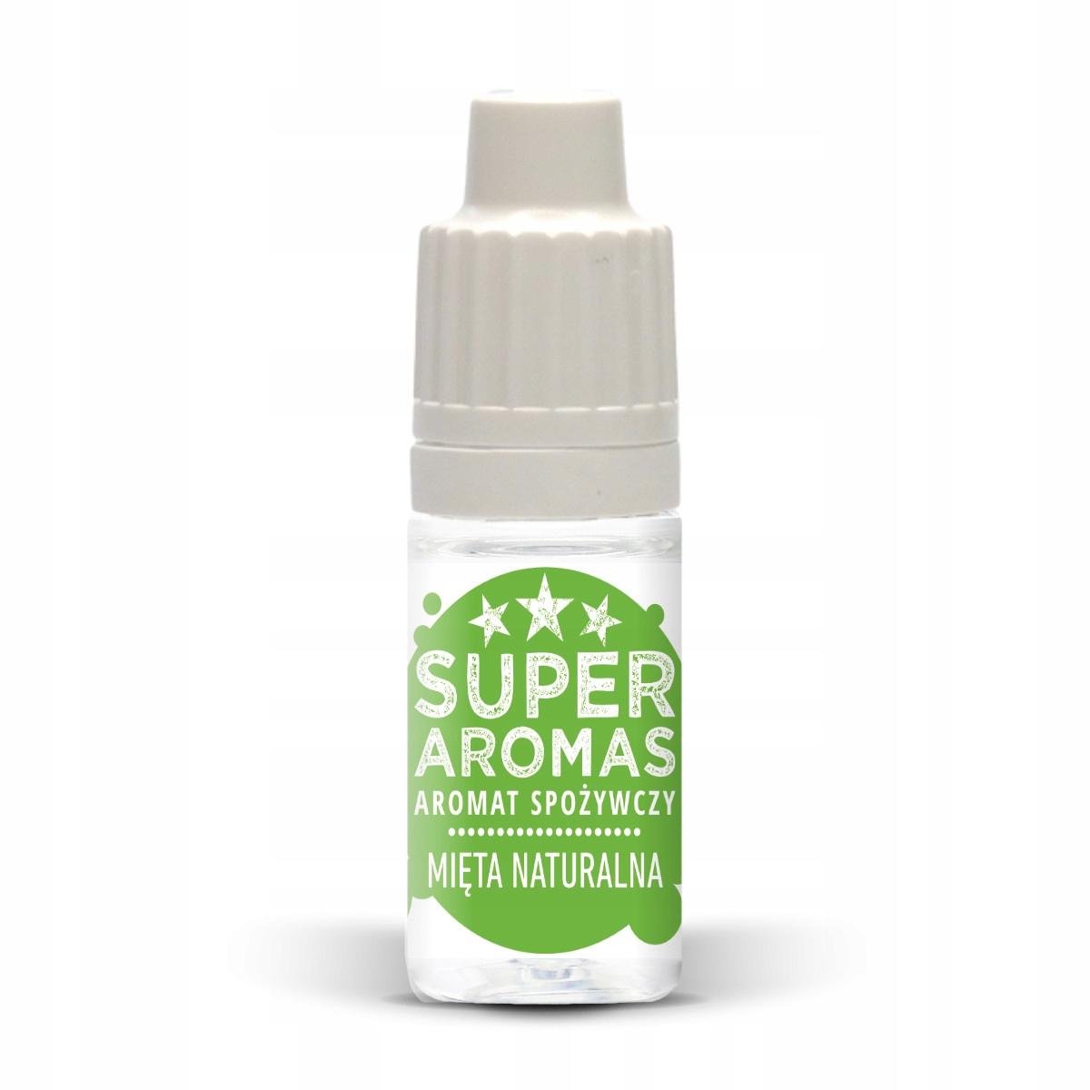 SUPER AROMAS Aromat spożywczy MIĘTA NATURALNA 10
