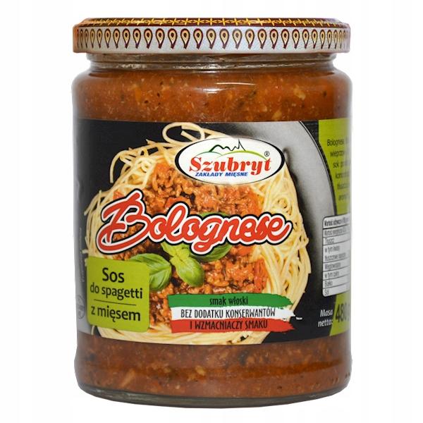 Sos Spaghetti Bolognese z mięsem Bez konserwantów!