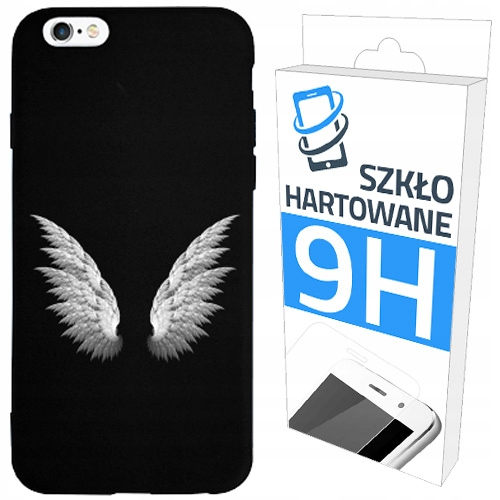 150wzorów Etui Matt+szkło Hartowane Do Iphone 6/6S