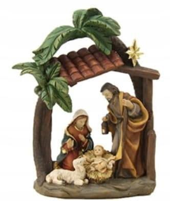 Figurína sv. Rodina pod palmami - vysoká 15,4 cm