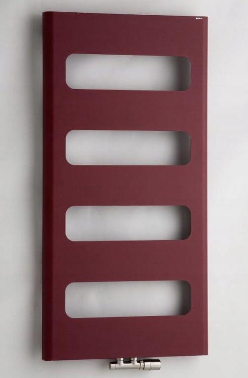 Radiátor 60x120cm CO / ELEKTRICKÝ 302W, RETRO HNEDÝ
