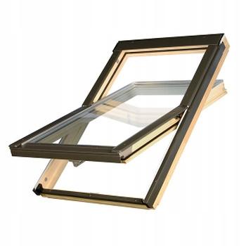 Okno dachowe 3 szybowe OptiLight D Pro U4 66x118