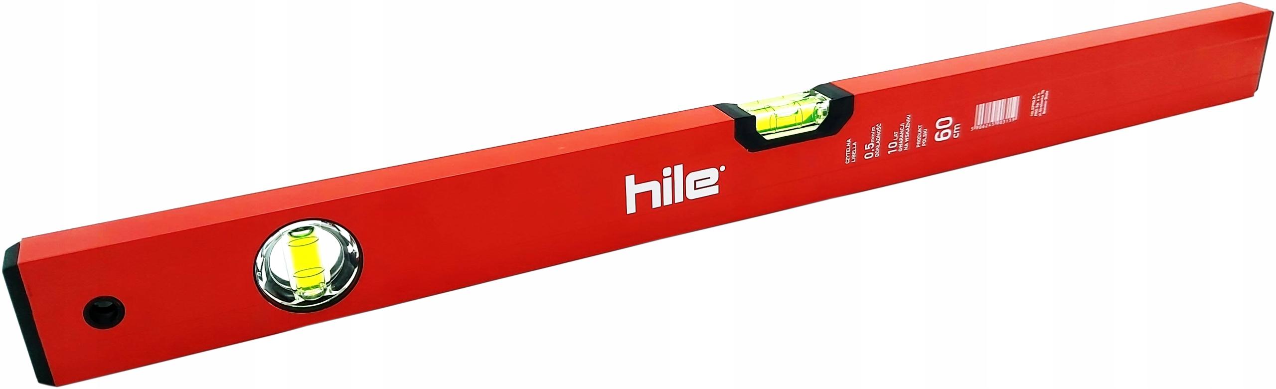 Horizontálna úroveň 60 cm Hliníková Pro Hile