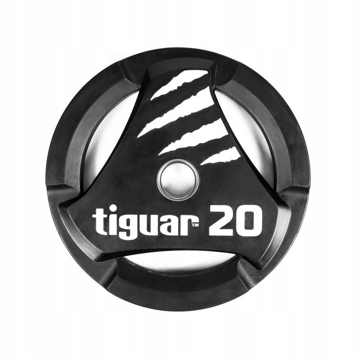 Olympijský tanier tiguar PU 20 kg