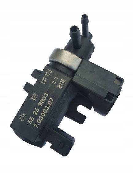 датчик клапан турбины системы рециркуляции ог opel insignia 20 cdti