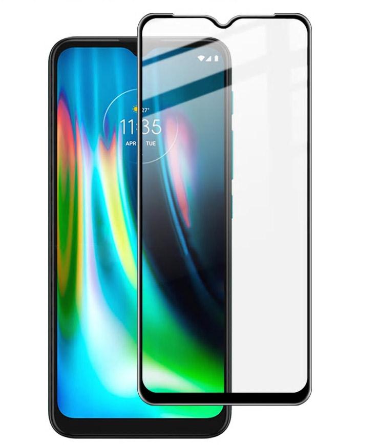 Etui Granat + szkło do Motorola G9 Play / E7 Plus Kod producenta G9 Play / E7 Plus
