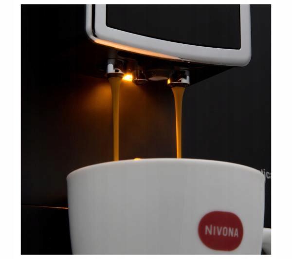 Кофемашина Nivona CafeRomatica 841 Домінуючий колір - чорний.