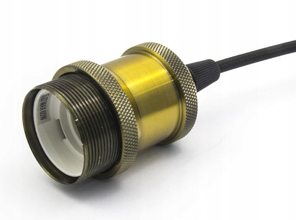 LAMPA SUFITOWA WISZĄCA LARGO ŻYRADNOL LED LOFT AC1 Kolor czarny