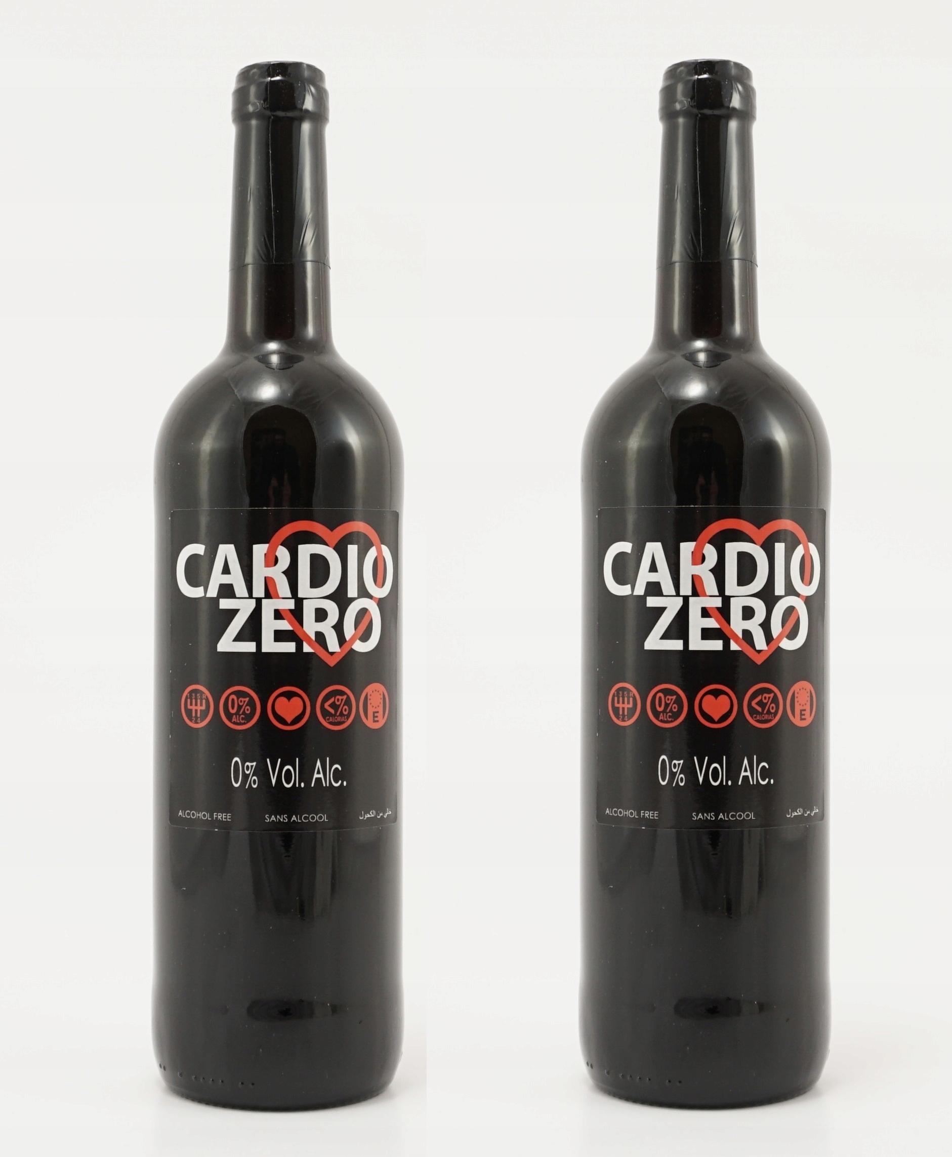 Безалкогольное красное сухое вино Cardio Zero