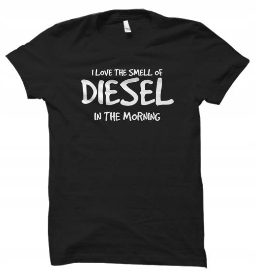 I Love The Smell Diesel kierowca damskaXXL