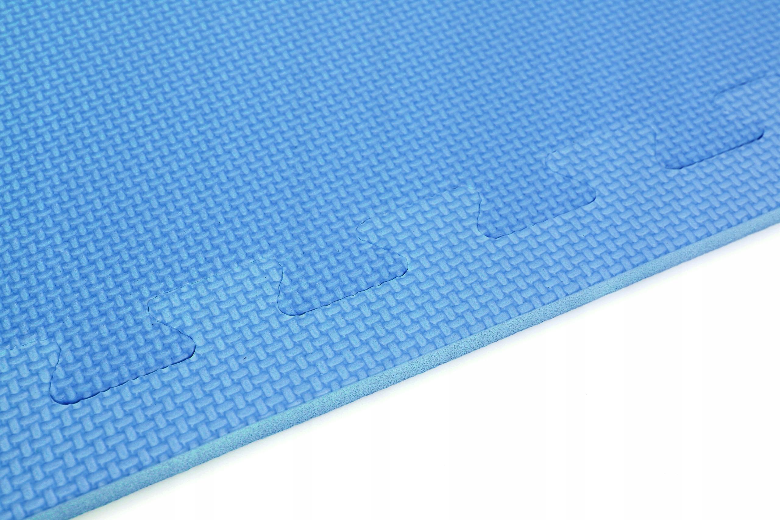 PIANKOWA MATA SAPPHIRE dla DZIECI 122x240cm, 8SZT Kolor dominujący odcienie niebieskiego