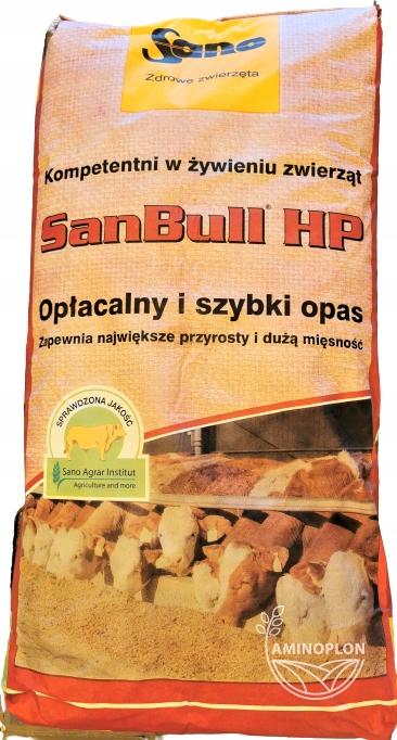 SanBull HP прибавки 25 кг + мясистость + быстрое откорма
