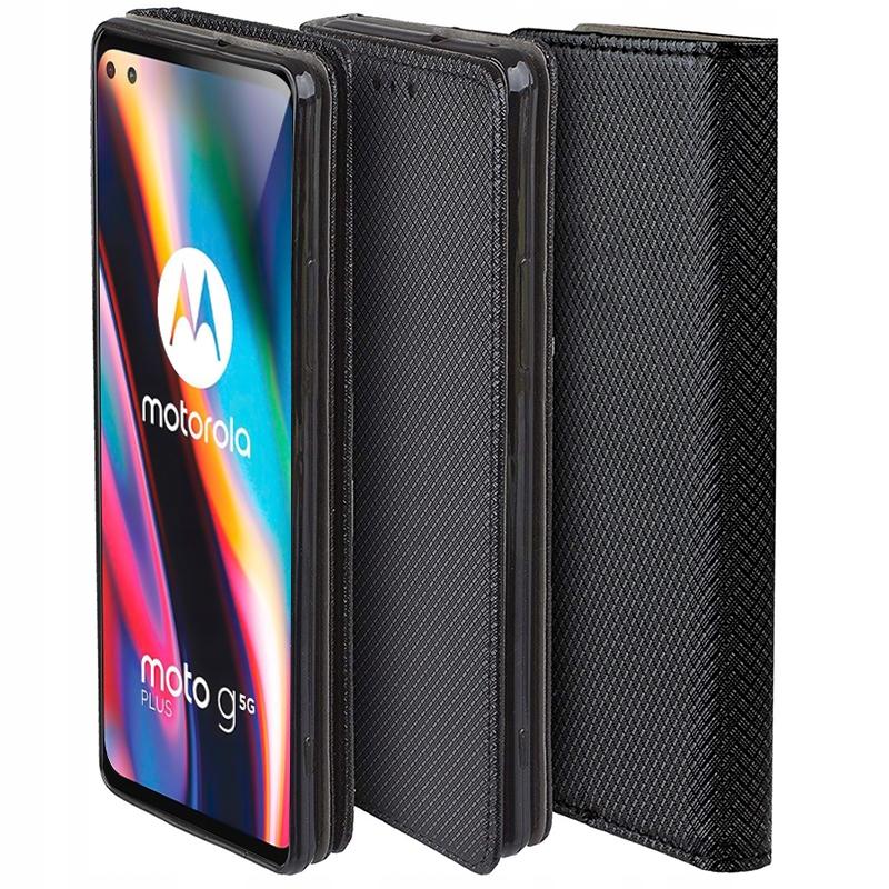 Etui do Motorola Moto G 5G Plus Case Magnet +Szkło Dedykowany model Motorola Moto G 5G Plus