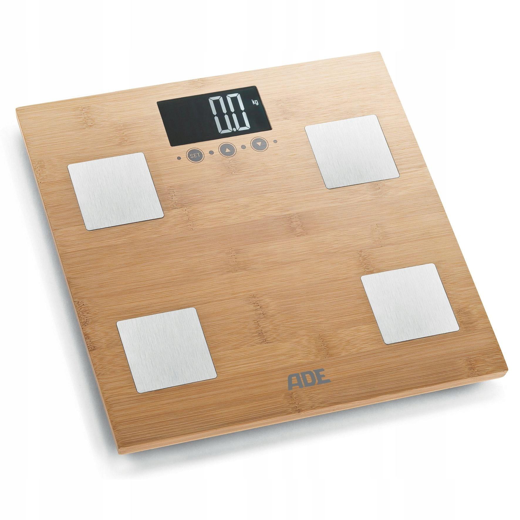 Bambusová váha ADE s analýzou telesnej hmotnosti