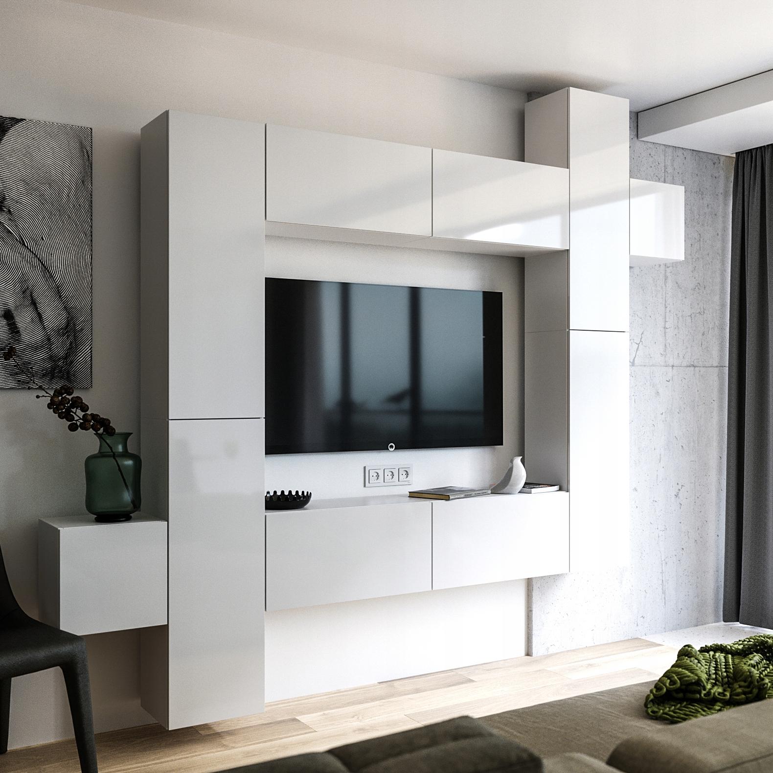 Купить Мебель для гостиной Meblościanka Гостиная 280 см ПРЕМИУМ на Otpravka - цены и фото - доставка из Польши и стран Европы в Украину.