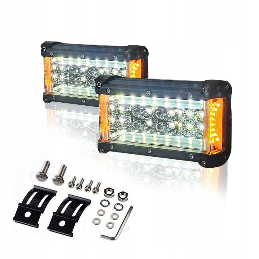 комплект 2 x галоген лампа рабочая led 210w 12-30v