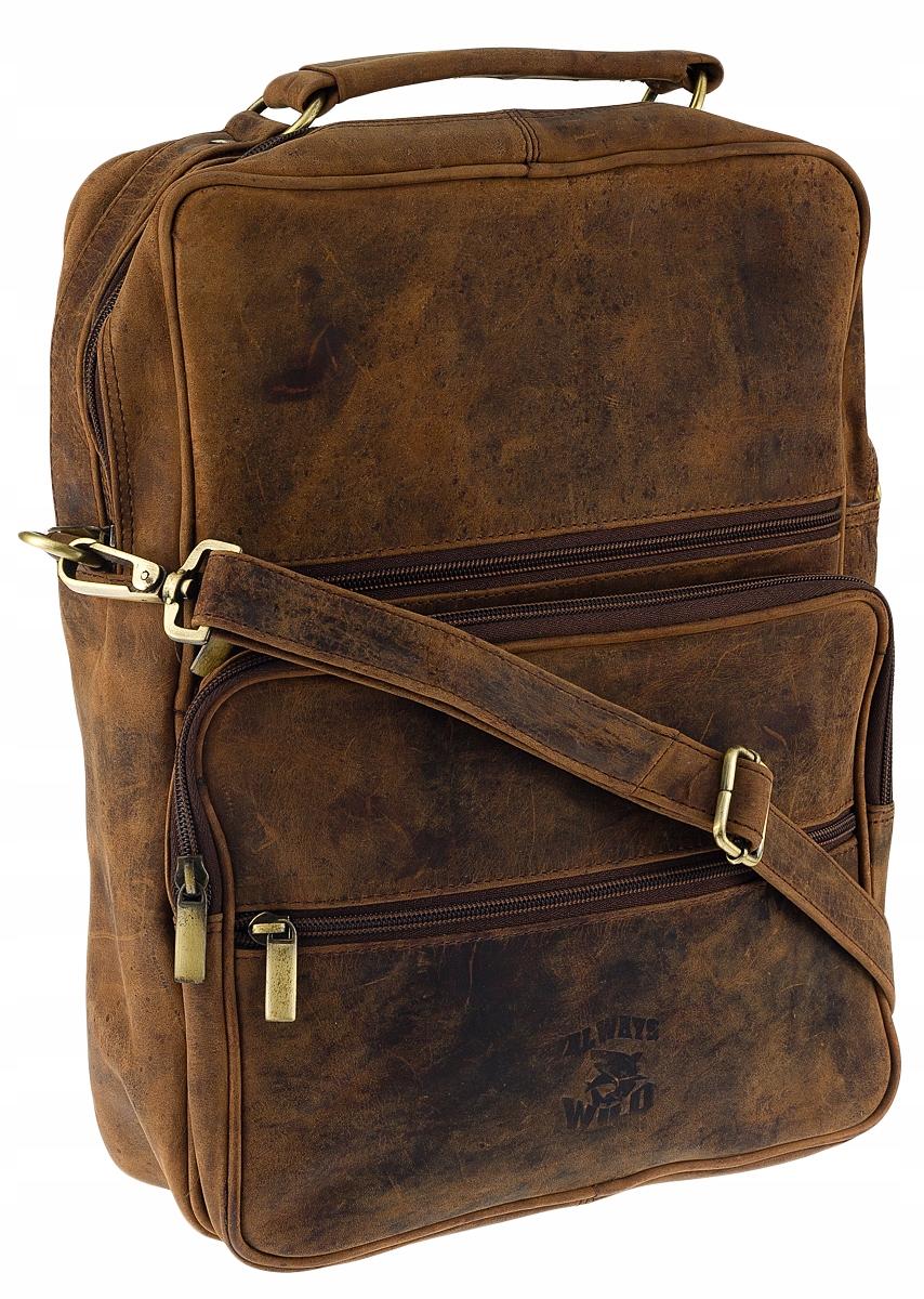 krásna taška, že klasické vintage bawola koža A4 rameno