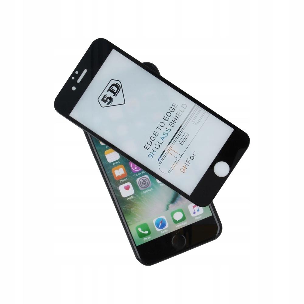 Szkło hartowane 5D Samsung Note 10 Plus czarna ram