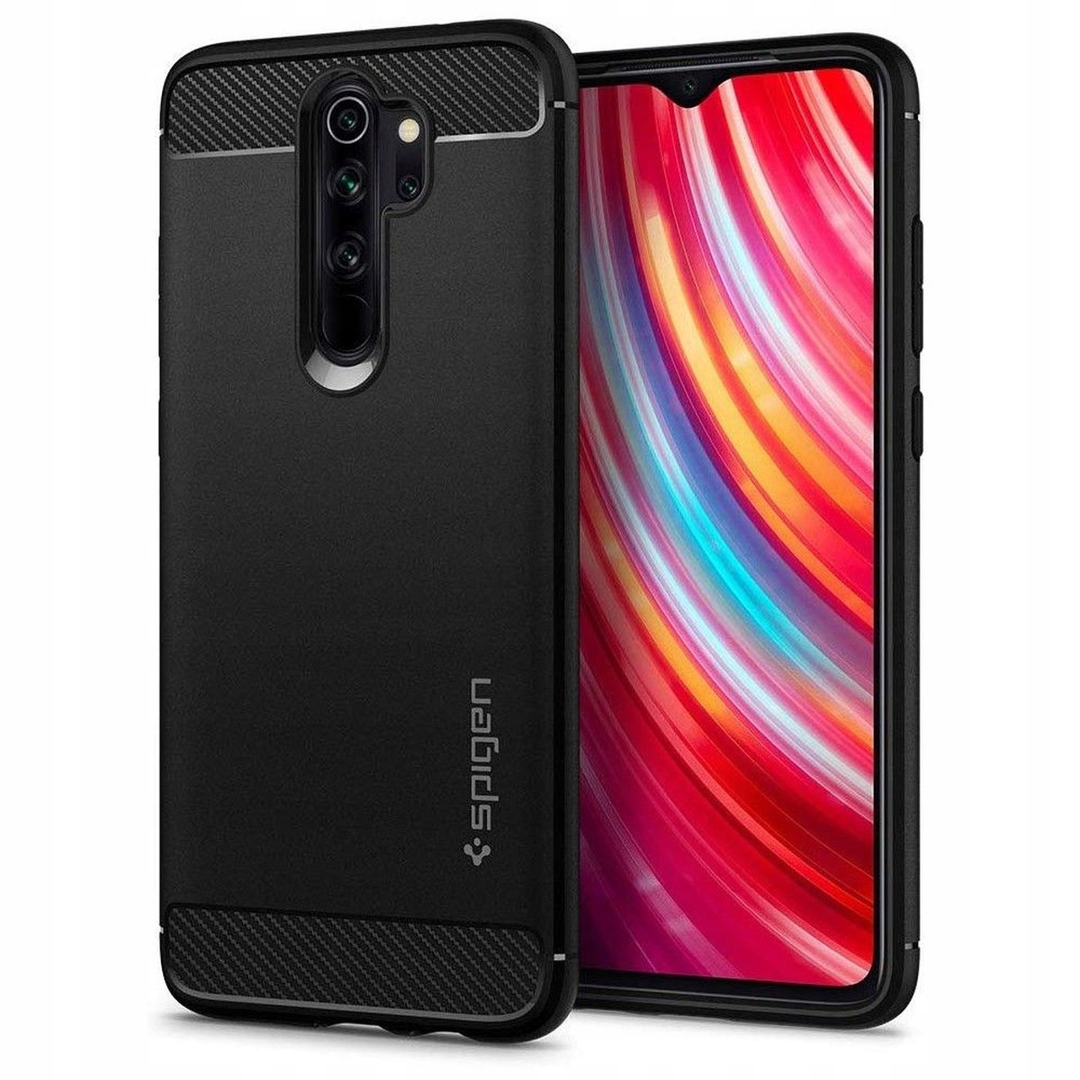 Spigen Rugged Armor Etui Case Redmi Note 8 Pro