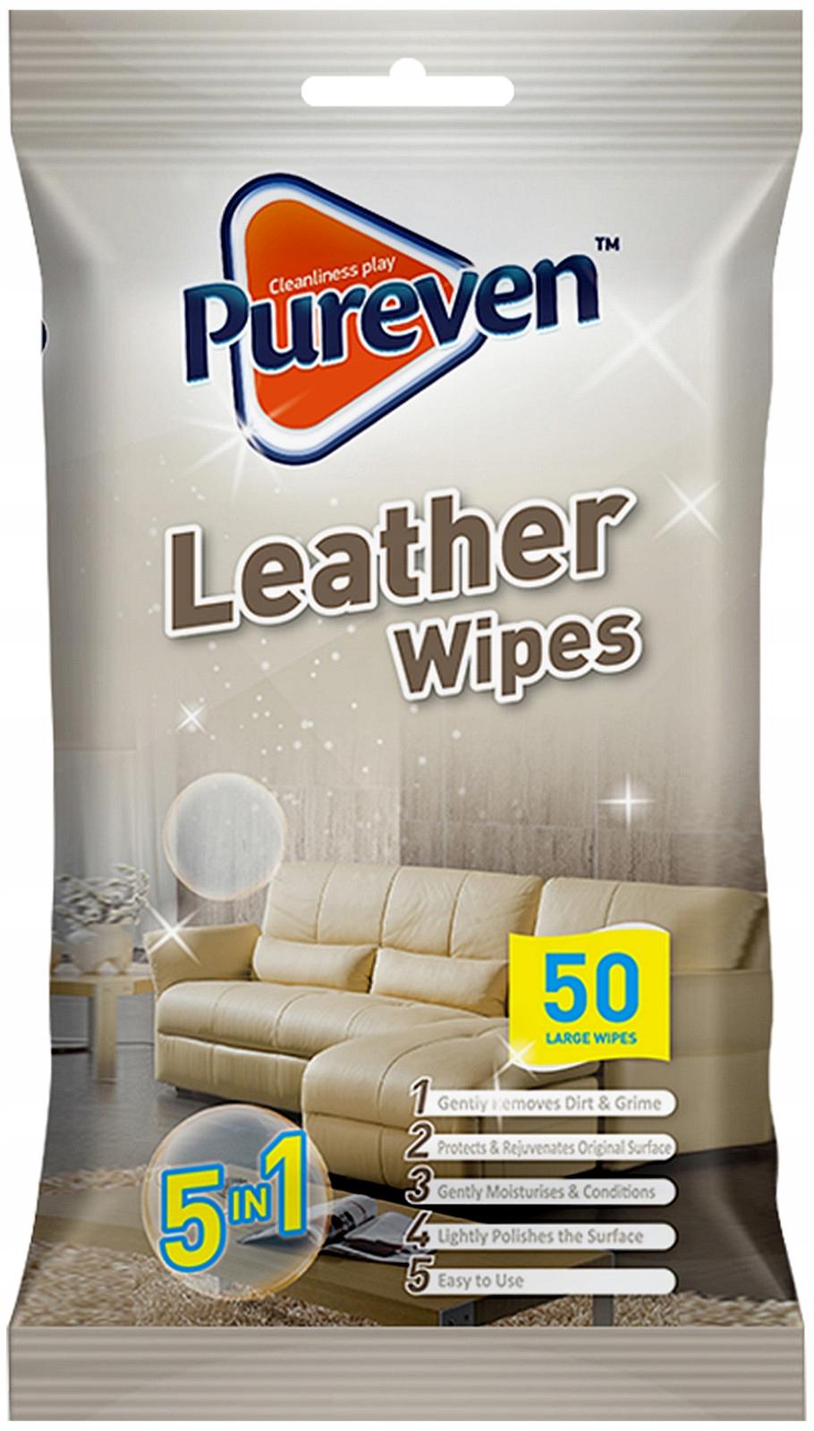 Pureven очистки кожи салфетки 50pcs Великобритании