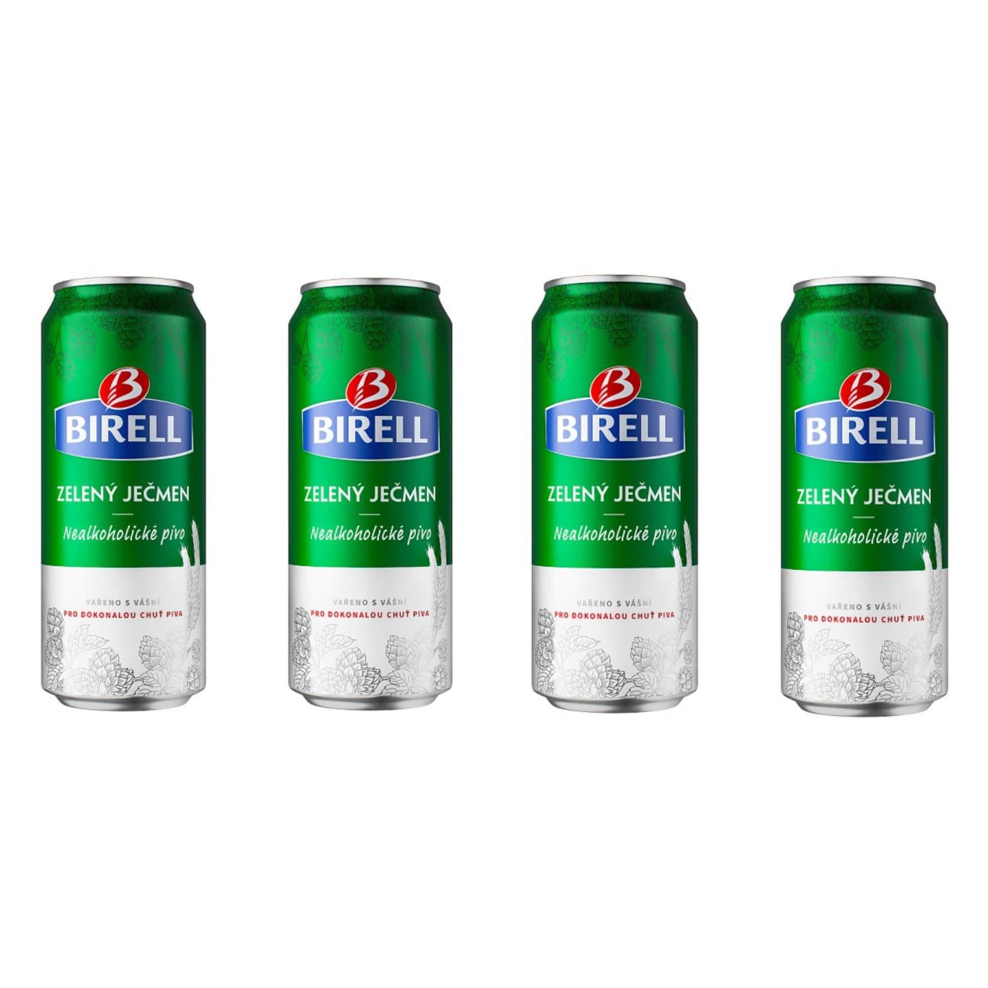 Пиво 4xBirell Green Barley безалкогольное 500мл