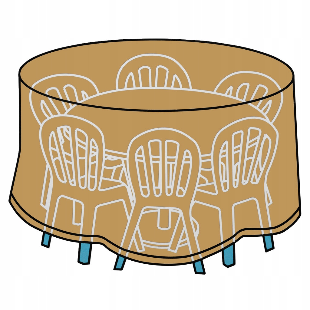 Ochranný kryt pre nábytok wyss 89 śr193