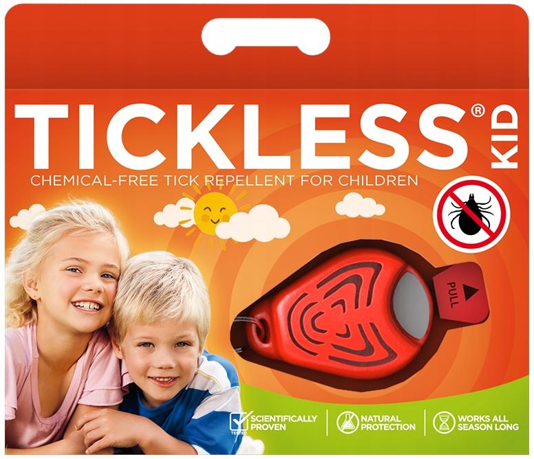 TICKLESS Detský odpudzovač kliešťov pre deti