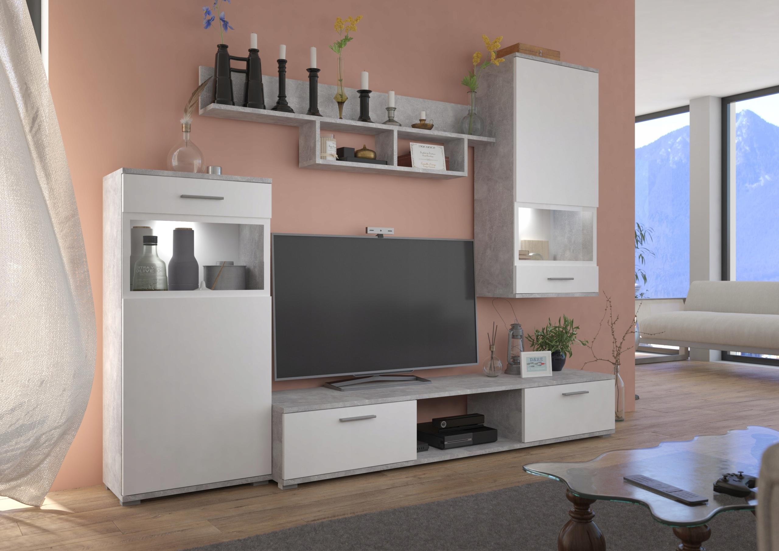 Nástenná jednotka RETRO obývacia izba pre mládež