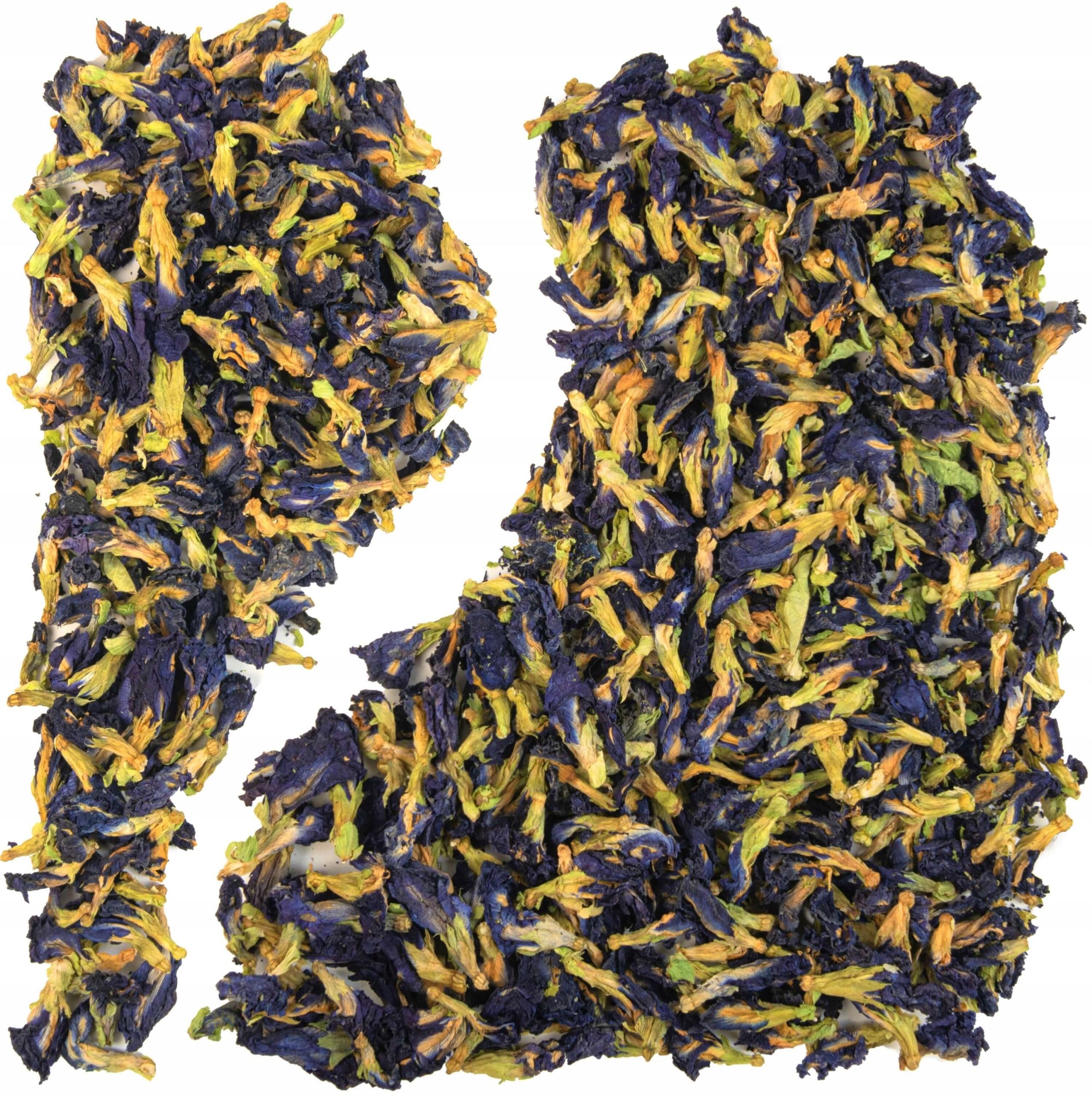 Чай синий Клитория чай голубой бабочки 25г