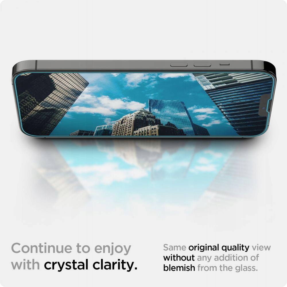 2x Szkło Spigen EZ Fit do iPhone 13 Pro Max Dedykowany model 13 Pro Max Braders