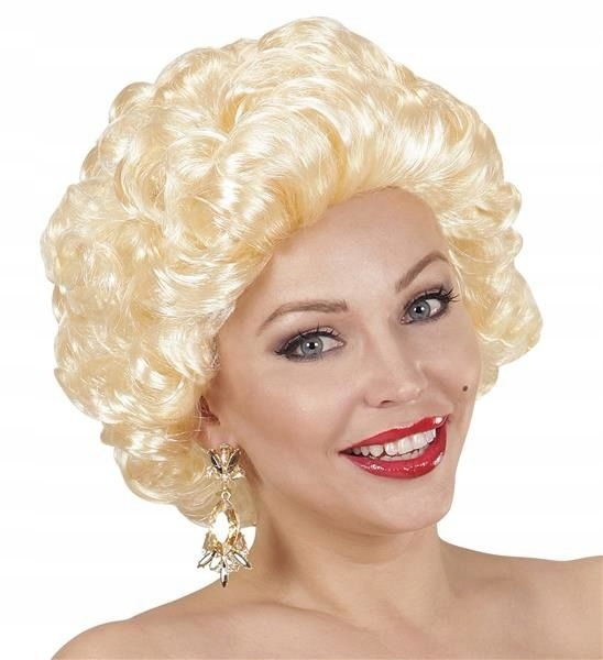 MARILYN RETRO Diana WIG FILM STAR BLOND