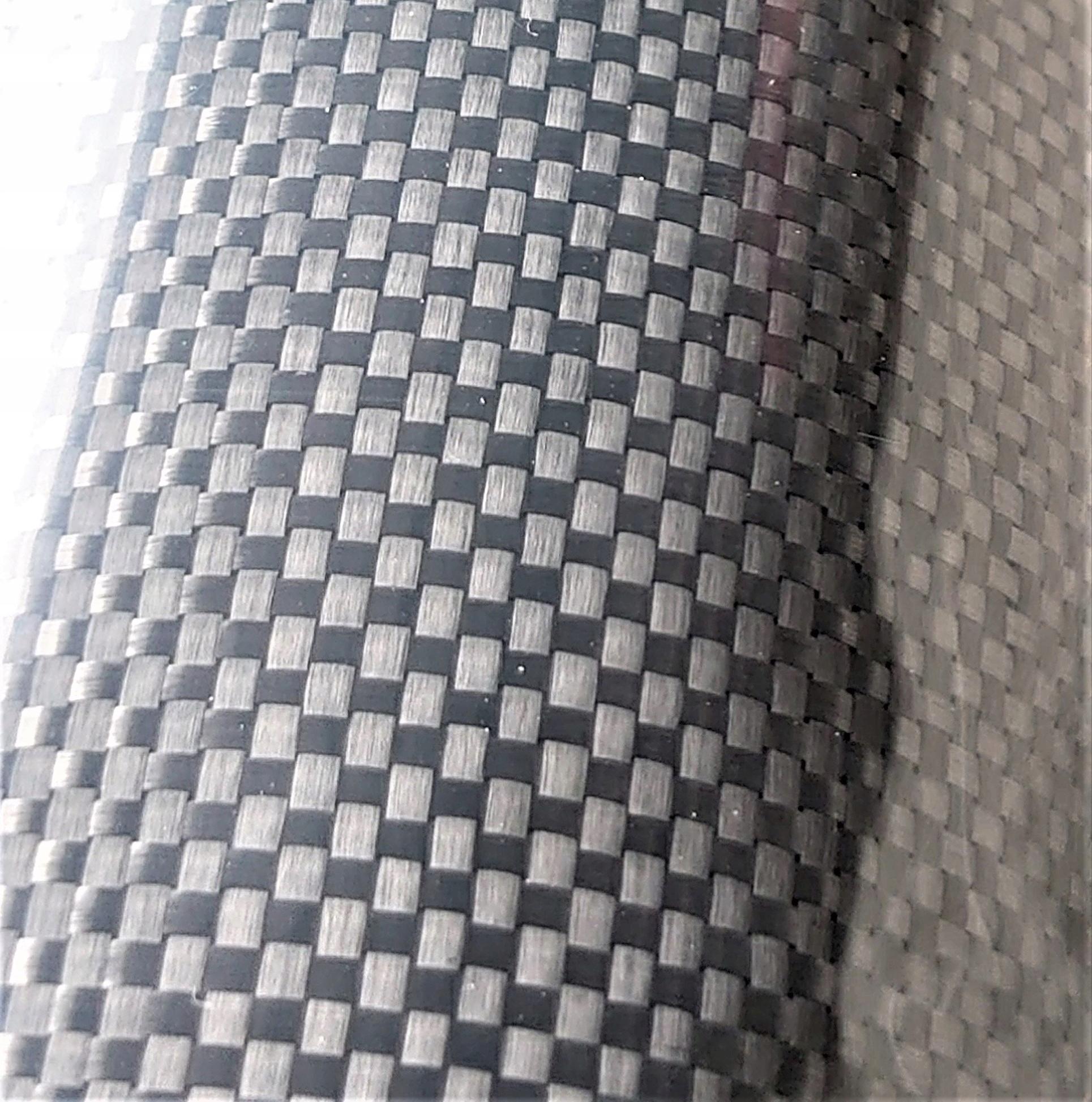 Włókno tkanina węglowa carbon 200g płótno 1/1plain