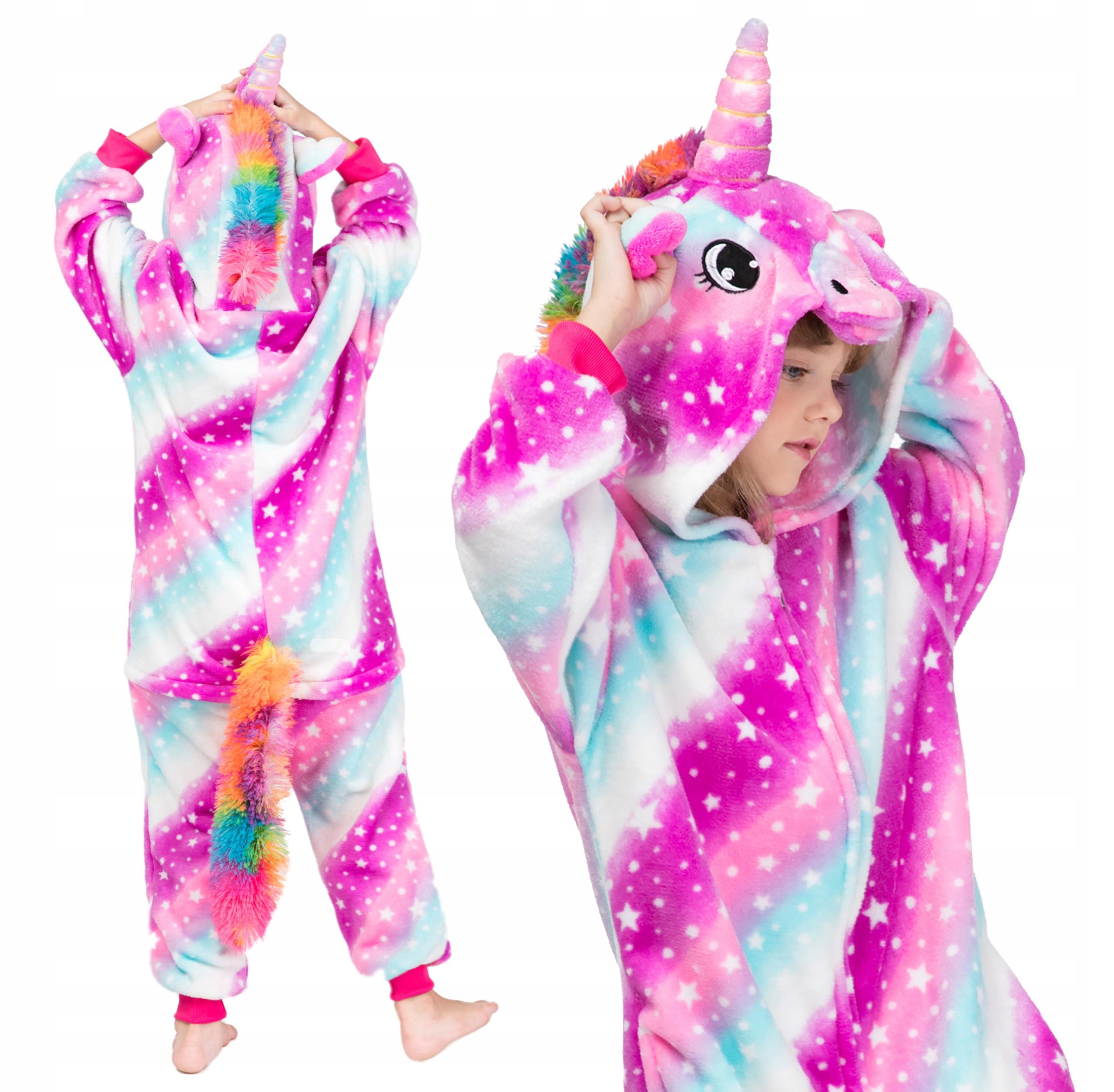 Пижамы кигуруми UNICORN Galaxy для детей 146