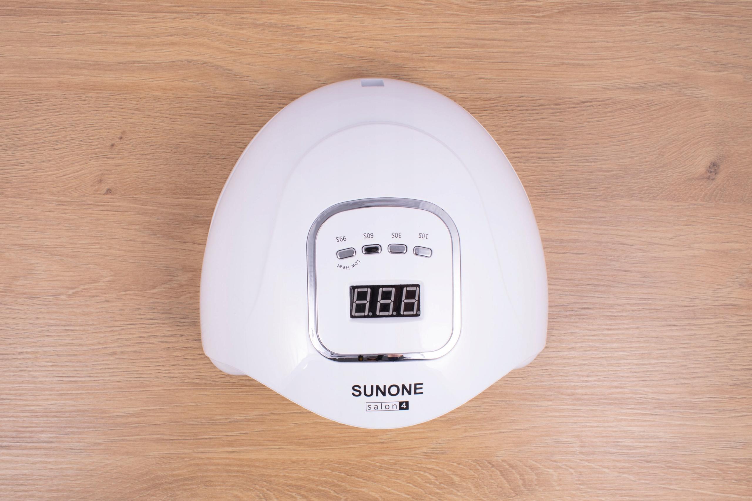 SUNONE salon4 Lampa UV LED 90W Hybrydy Żele Cechy dodatkowe sensor ruchu timer zdejmowane dno