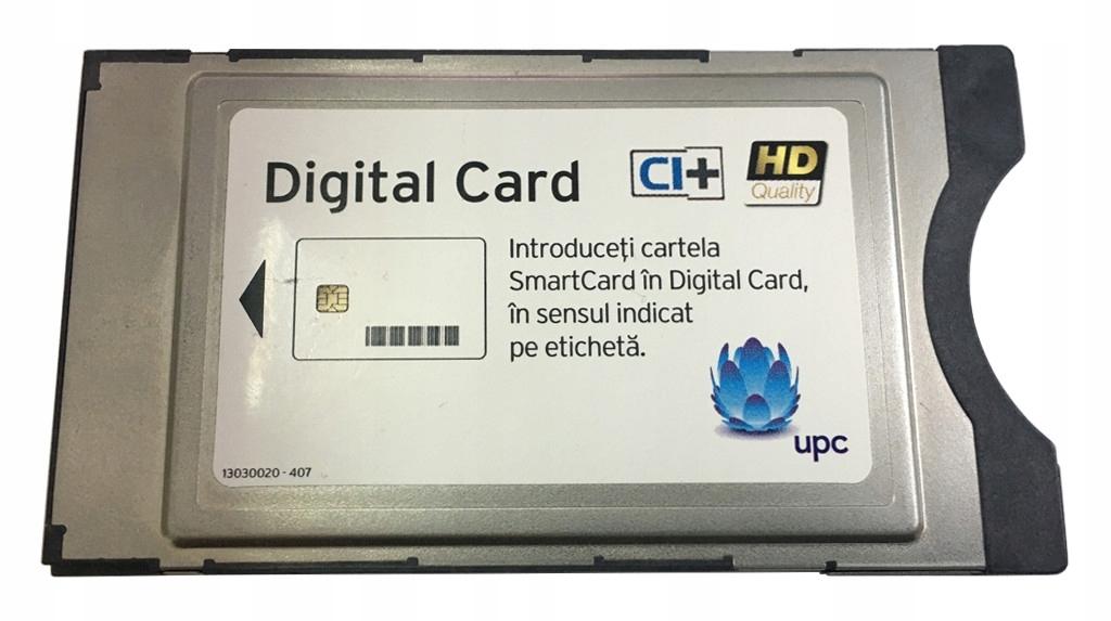 Modul CAM CI + pre digitálnu káblovú sieť UPC