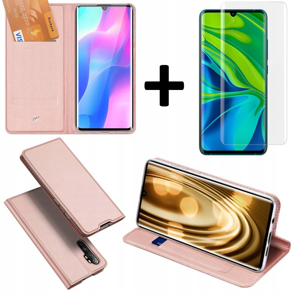 Etui DUXDUCIS + szkło UV do Xiaomi Mi Note 10 Lite