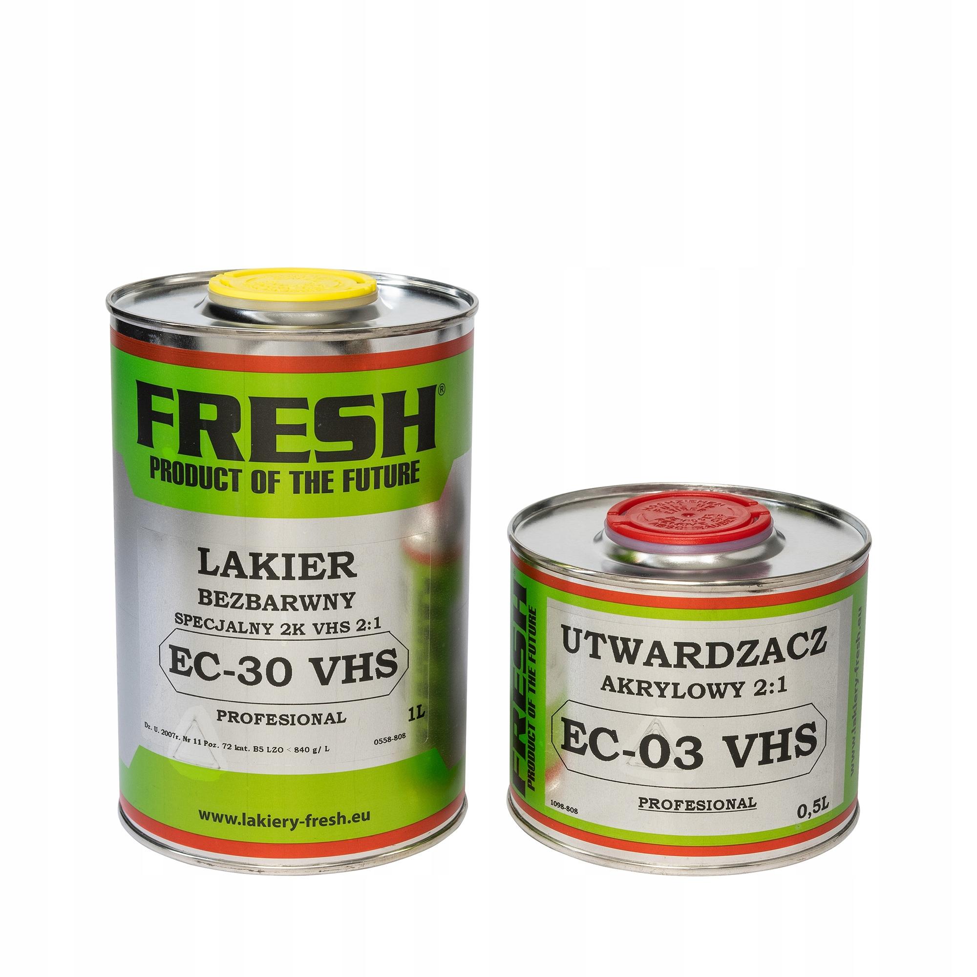 FRESH Четкое пальто EC-30 VHS 1'0.5 profESIONAL