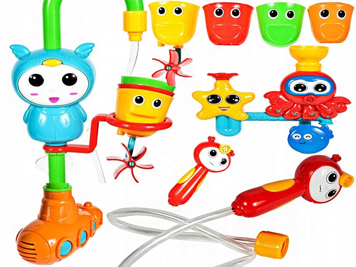 Sada hračiek do vodného kúpeľa pre deti