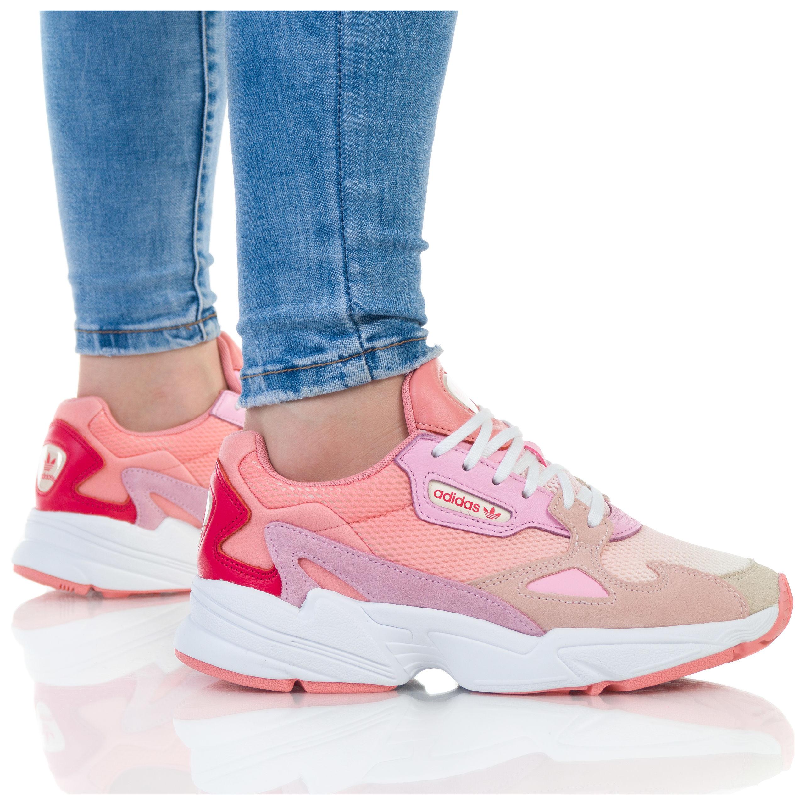 buty adidas damskie różowe allegro