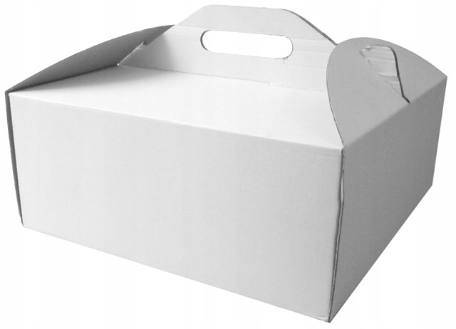 Упаковка для белых кексов 300x300x150, 10 шт.