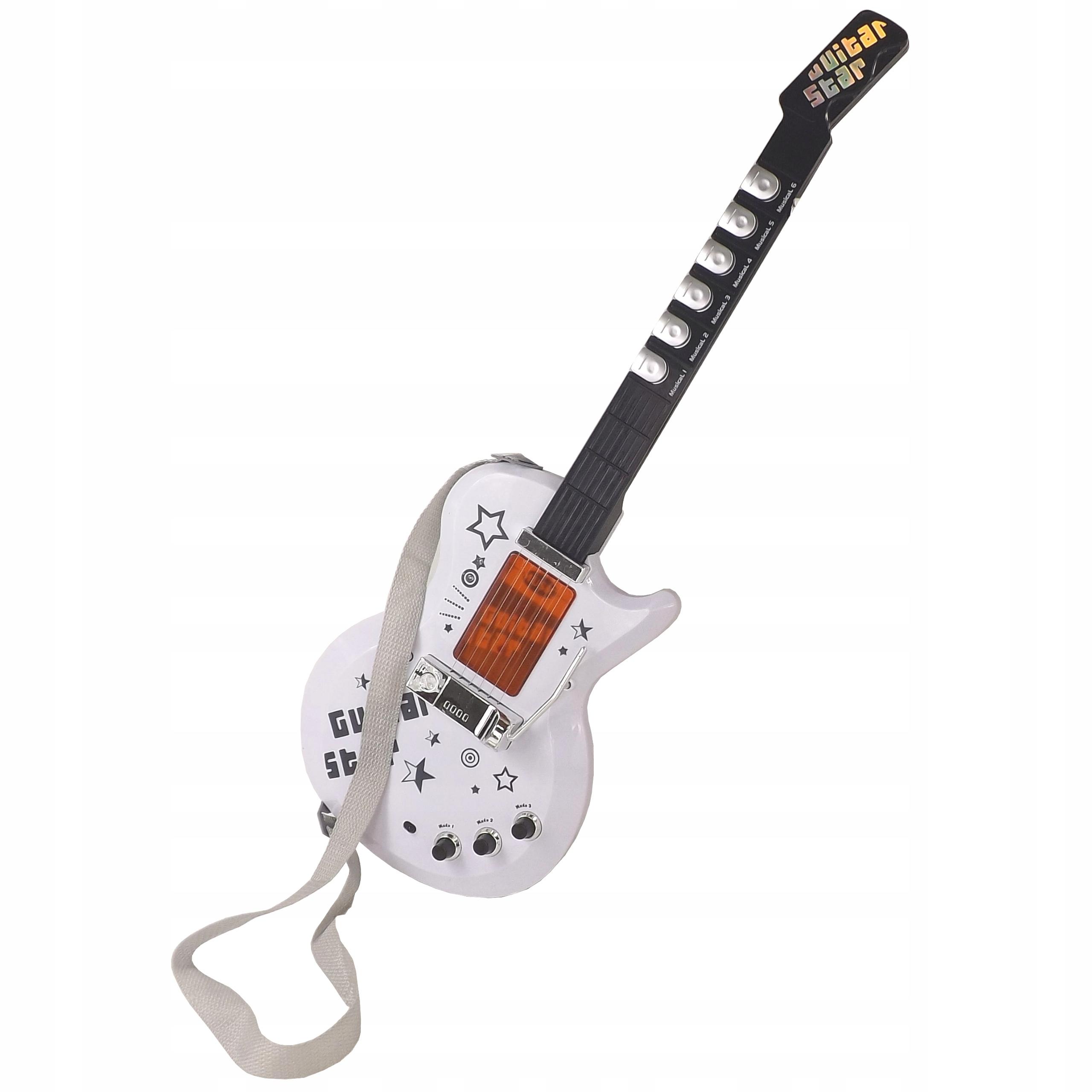 BEZPRZEWODOWA GITARA ZE WZMACNIACZEM,mikrofon 9010 Rodzaj gitara