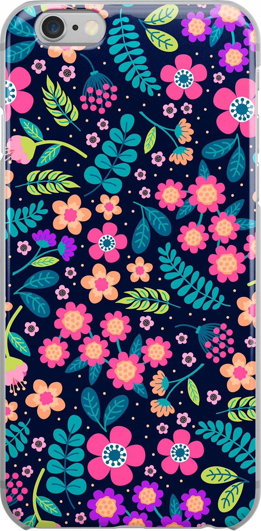 Etui Wzory Kwiaty Lenovo A3600
