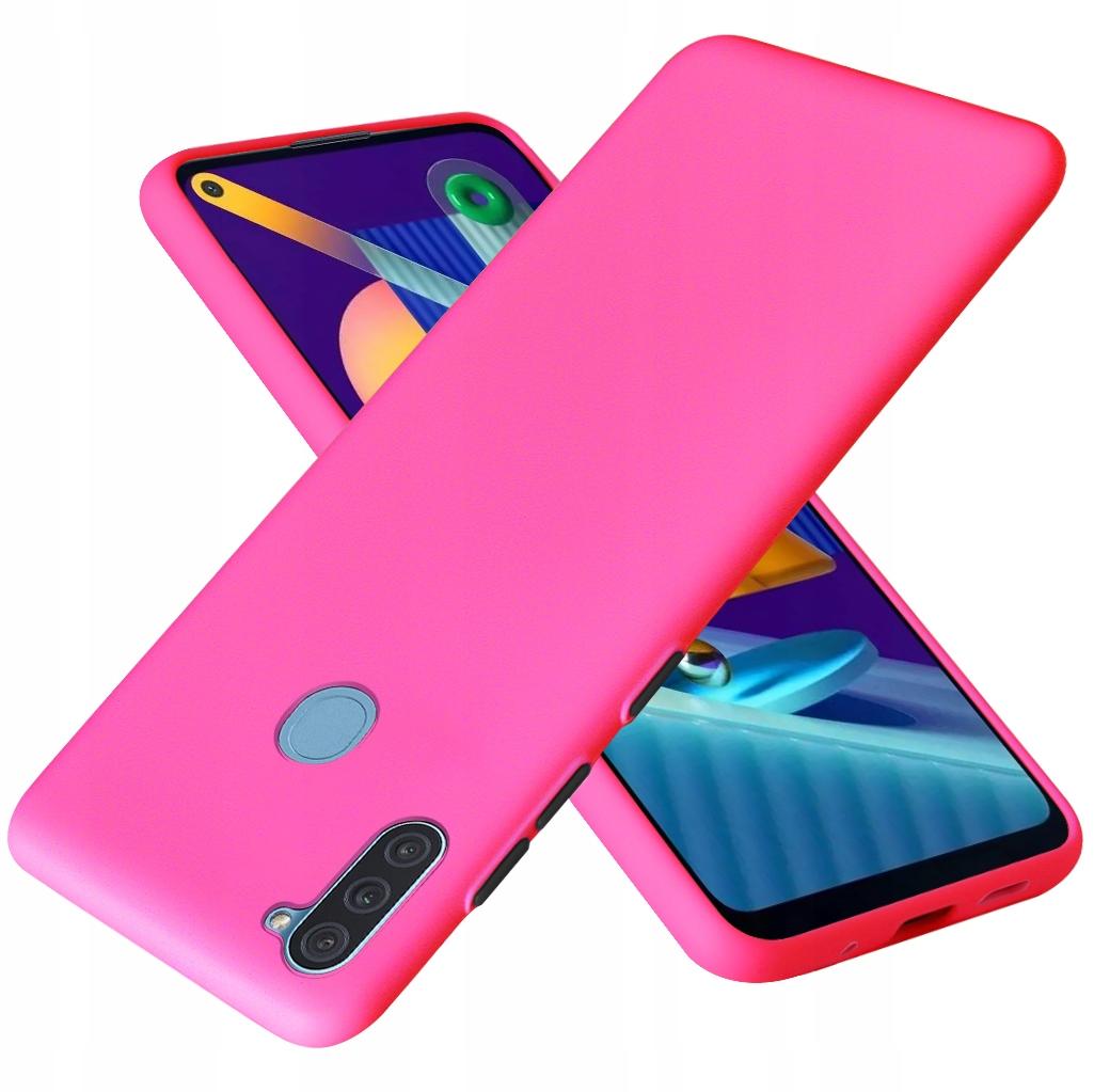 Etui do Samsung Galaxy M11 Case Silikon + Szkło 9H